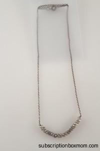 Lotus Jewelry Studio Black Seed Necklace in Diamond Labrodorite