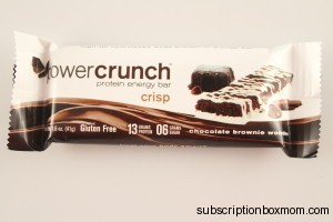 Power Crunch Chocolate Brownie  Wonder
