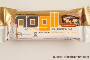 No Gii Bar Chocolate Coconut
