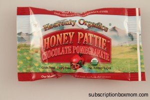 Heavenly Organics Honey Pattie Chocolate Pomegranate