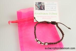 Arabian Vibes Macrame Bracelet