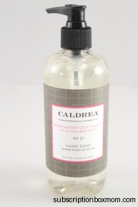 Caldrea Rosewater Driftwood Hand Soap