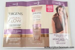Jergens Natural Glow 3 Days Glow Moisturizer