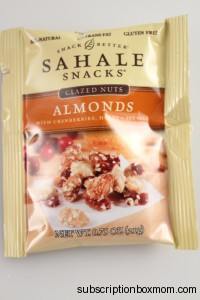 Sahale Snacks Almonds with Cranberries, Honey &  Sea Salt