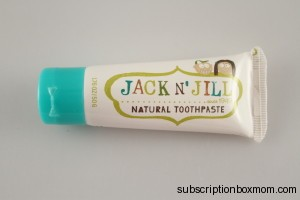 Jack n' Jill Toothpaste in Blueberry
