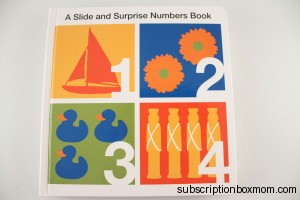 Slide and Surprise Numbers Book: