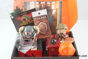 April 2014 Loot Crate