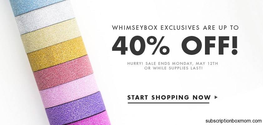 Whimseybox Biggest Sale