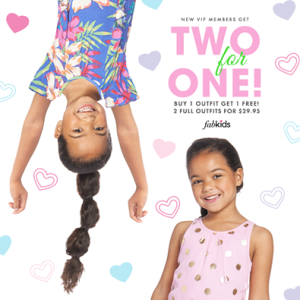 Fabkids $15.00 First Outfit + Buy 1 Get 1 Free