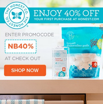 Honest 40% Off Coupon