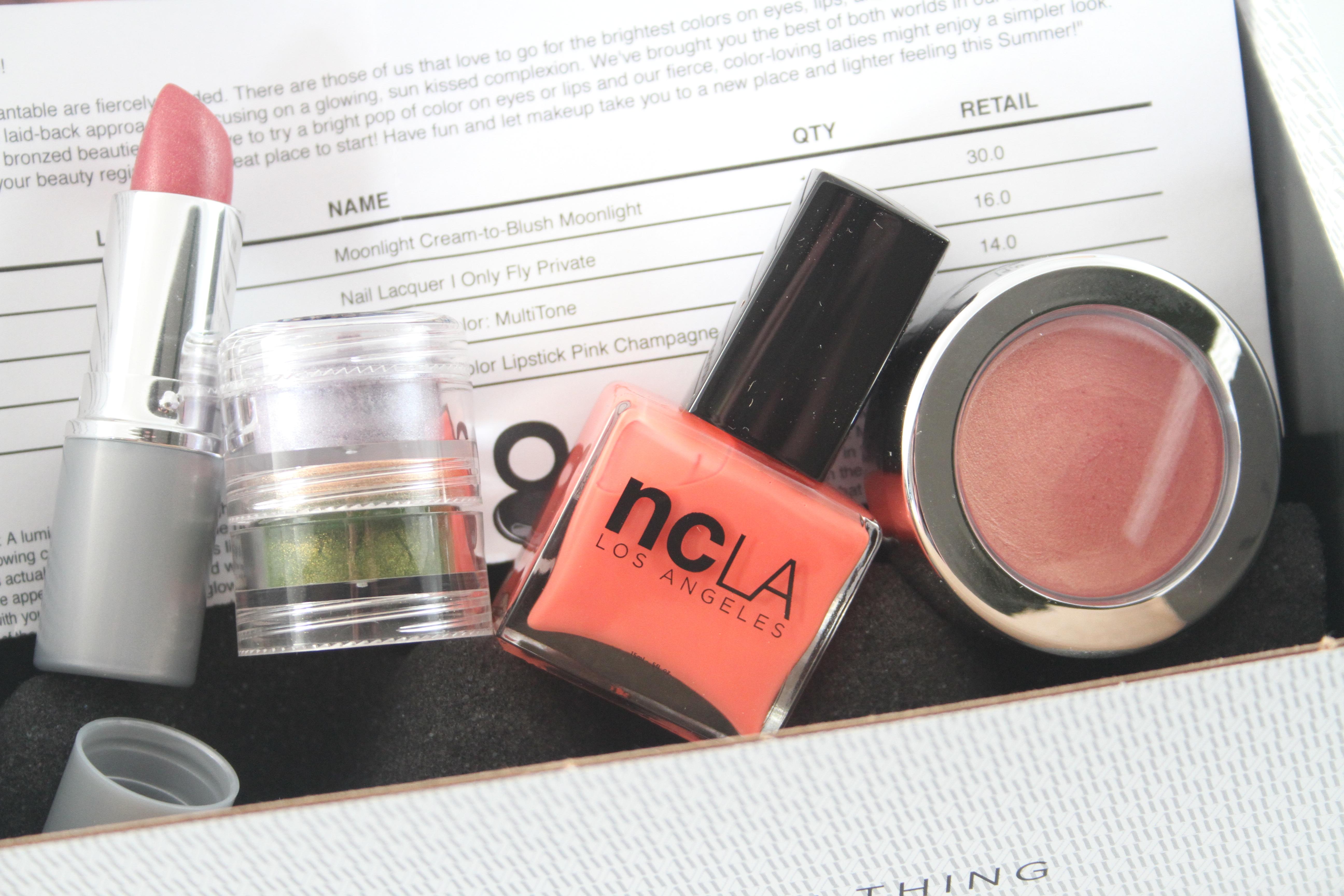 Wantable May 2014 - Makeup Subscription Box - Subscription ...