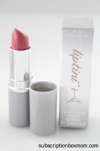 Straight Up Color Lipstick Pink Champagne by Tini Beauty from Wantable