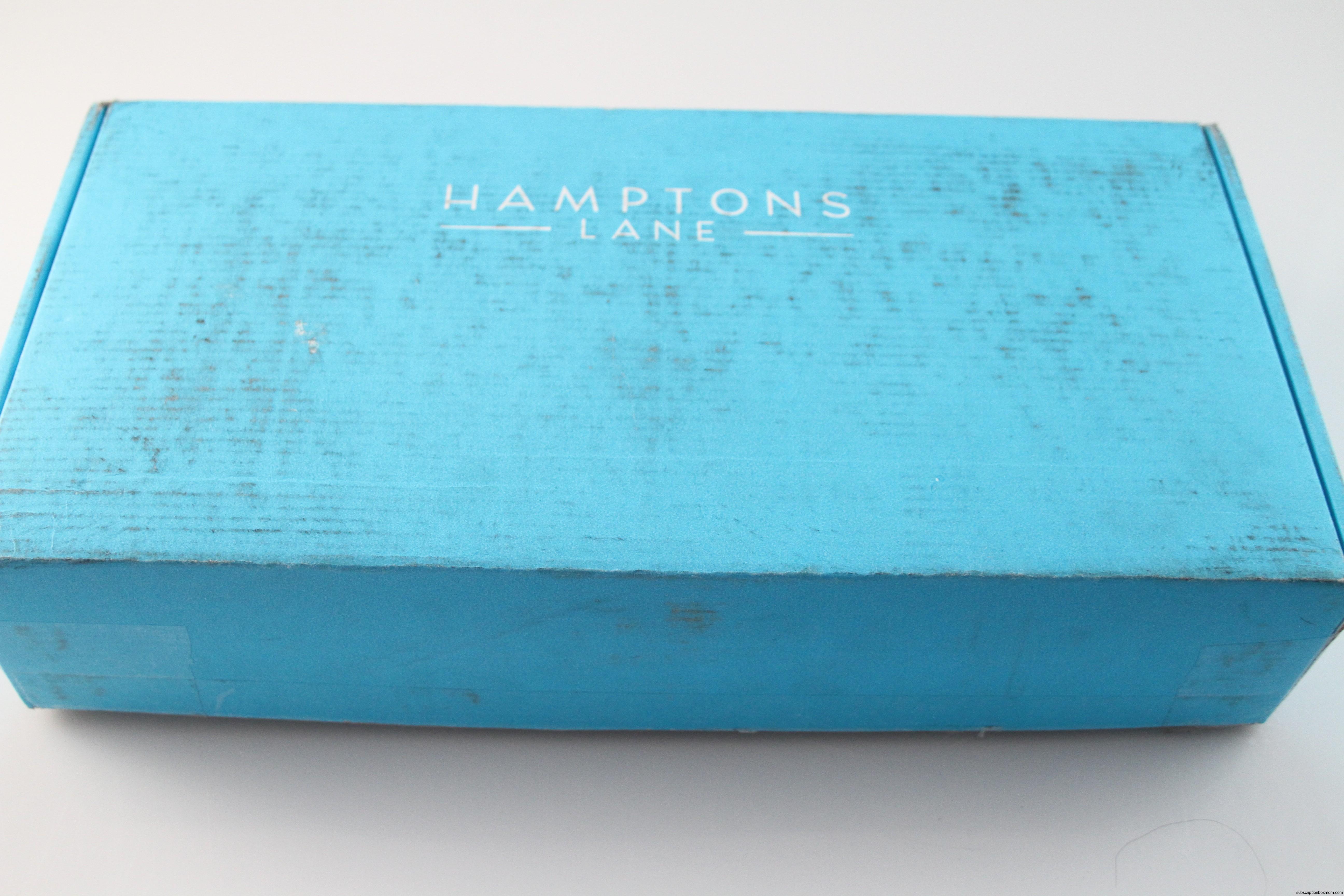 May 2014 Hamptons Lane Box - $10.00 Discount - Artisan Food Kitchen ...