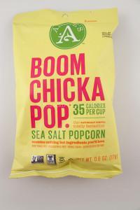 BooomChickaPop sea salt popcorn