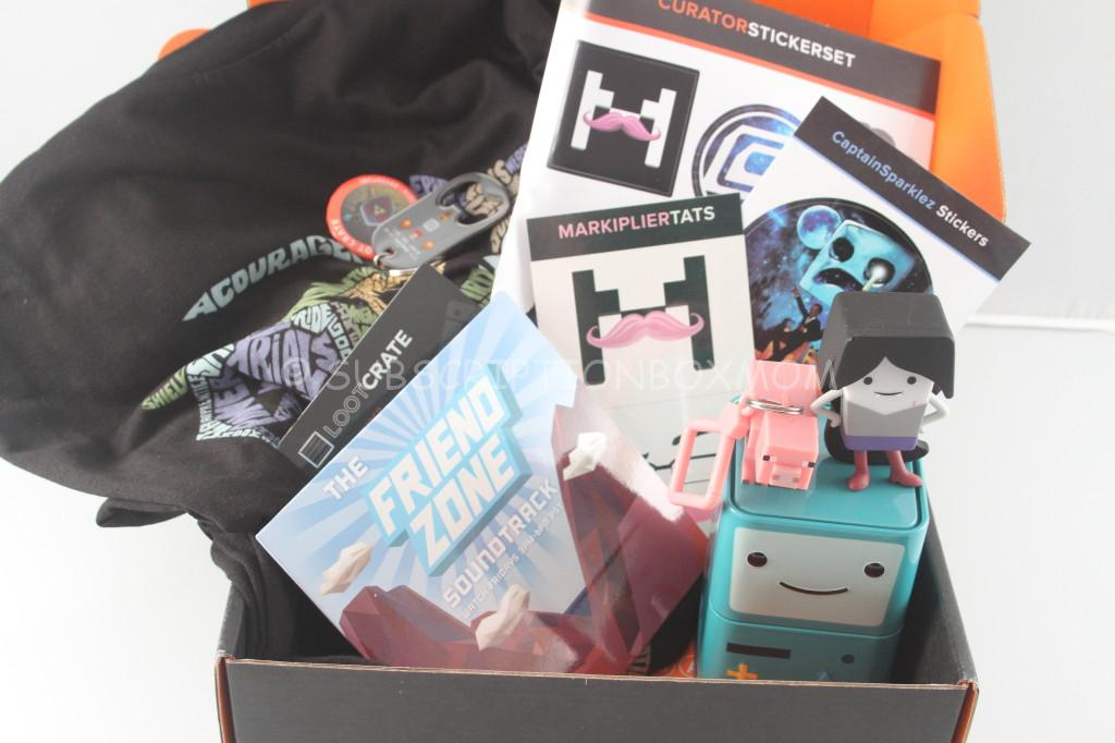 May 2014 Loot Crate Review Discount Quot Adventure Quot Geek