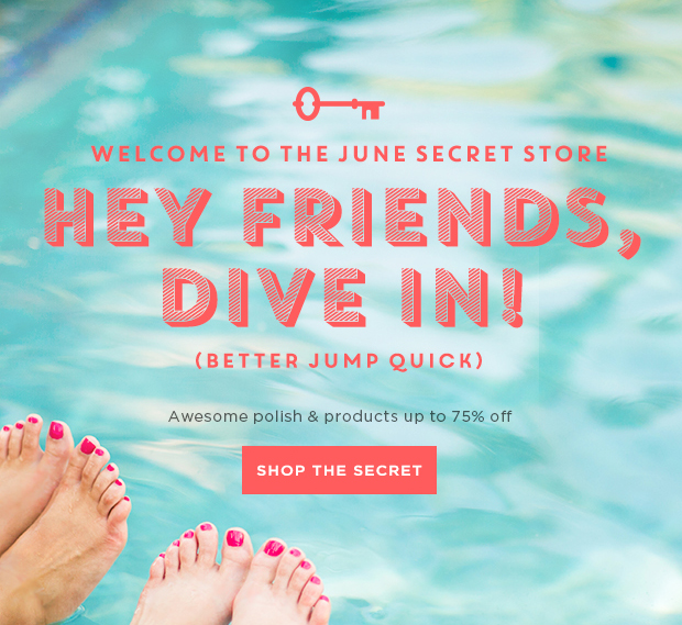 June Secret Store Last Chance Deals