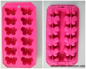Rubber Butterfly Ice Tray