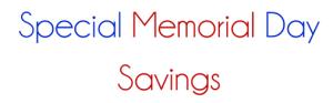 Austin Lloyd Memorial Day Sale