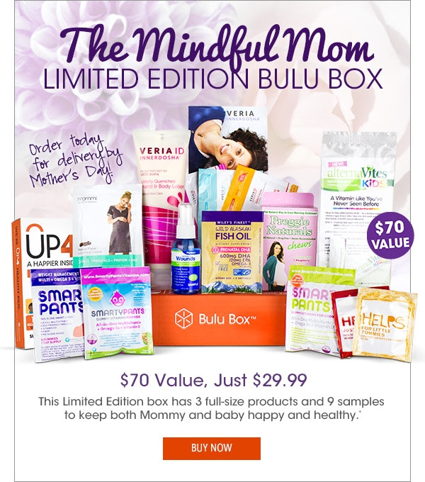Bulu Limited Edition Mindful Mom Box