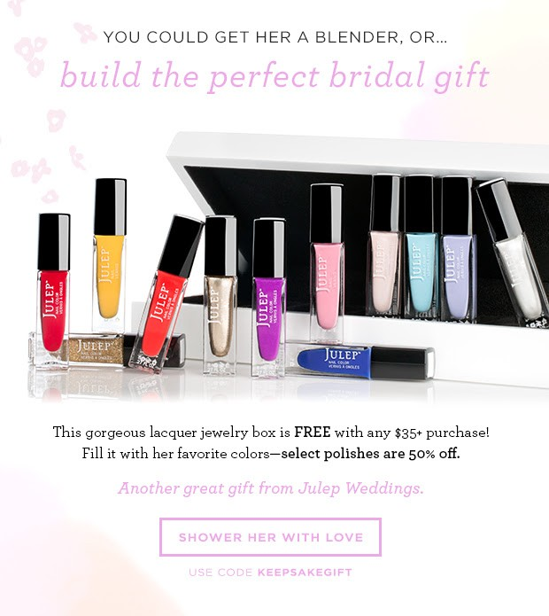 Julep 50% off polish + free keepsake box