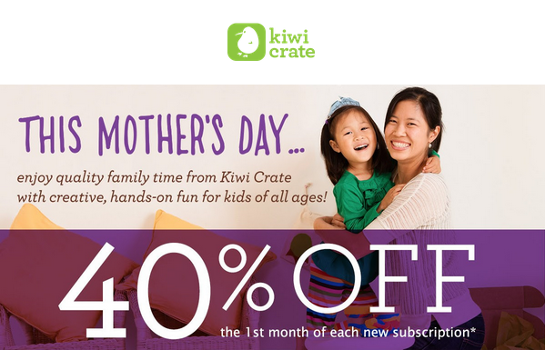 May 2014 Kiwi Crate Discount Code