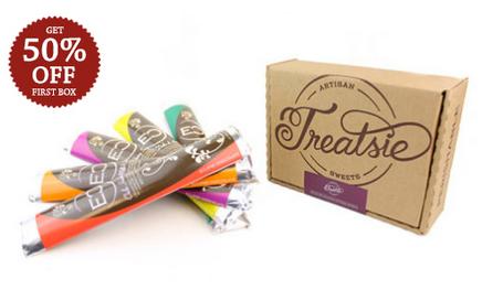 New Treatsie Chocolate Bar Subscription