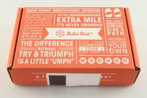July 2014 Bulu Box Subscription Box Review