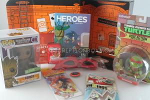 Loot Crate August 2014 Review