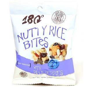 GF nutty rice bites