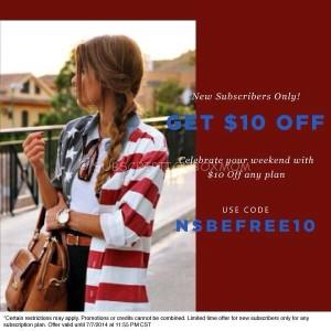 Social Bliss July Coupon