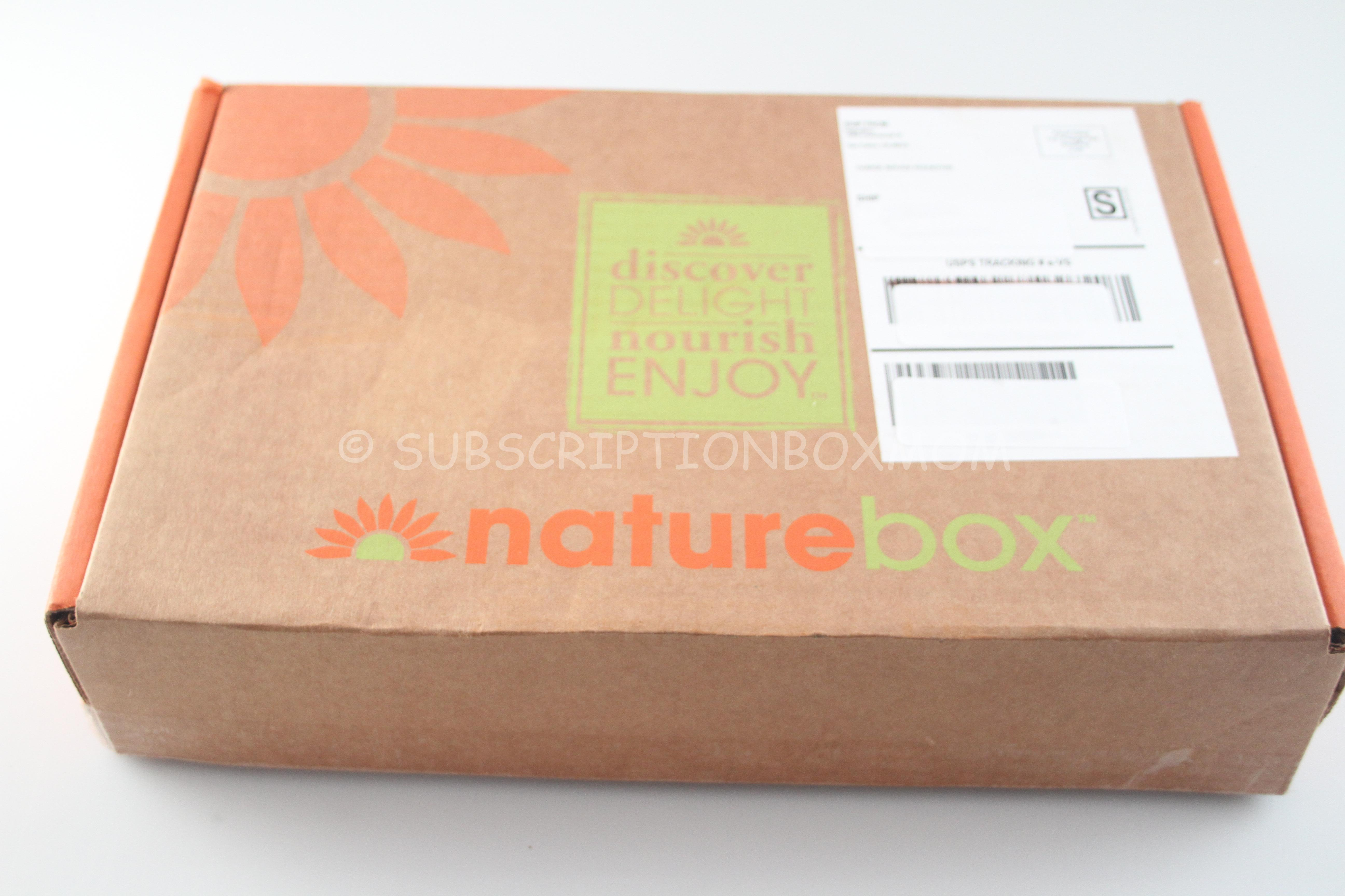 Naturebox August 2014 Review + Free Trial - Snack Subscription Box ...