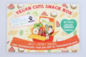 Vegan Cuts Snack Box August 2014