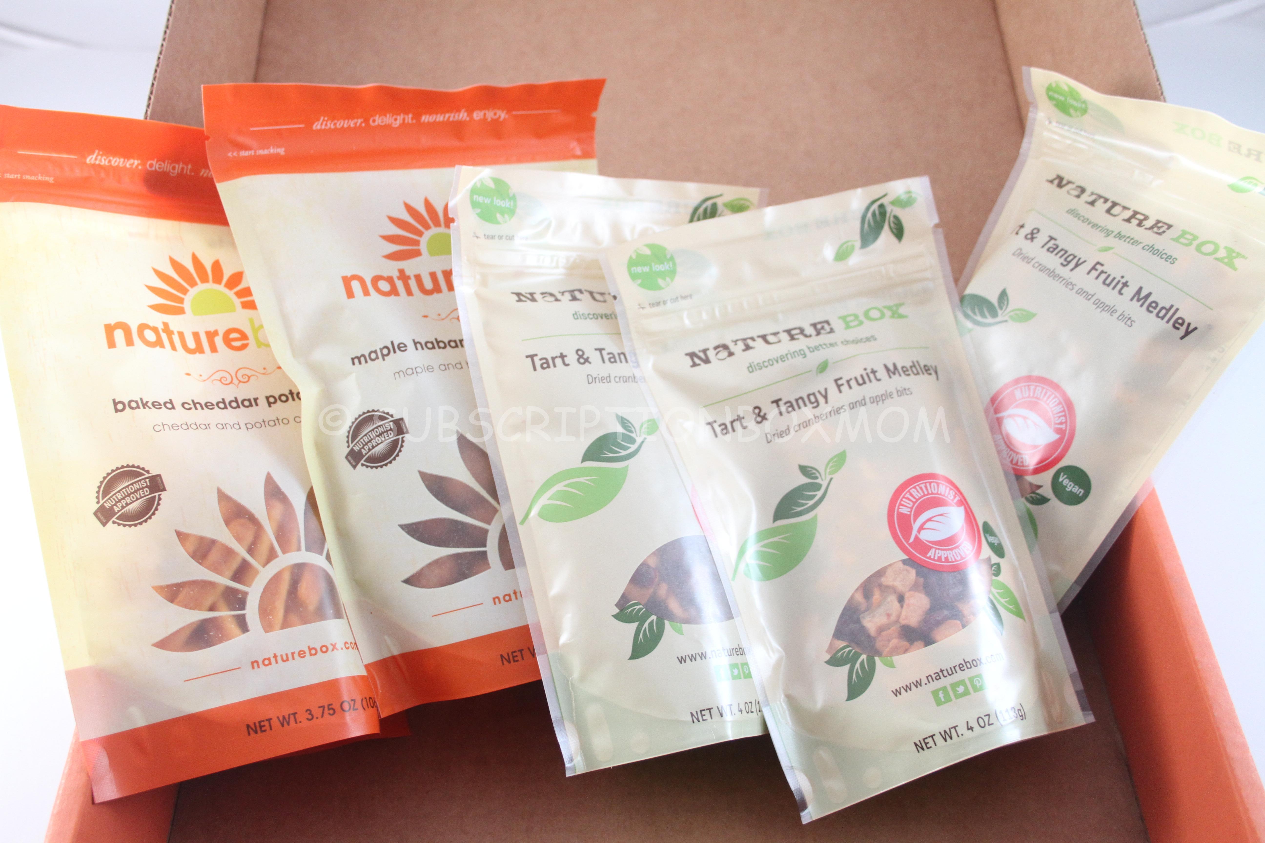 NatureBox Box Free Trial