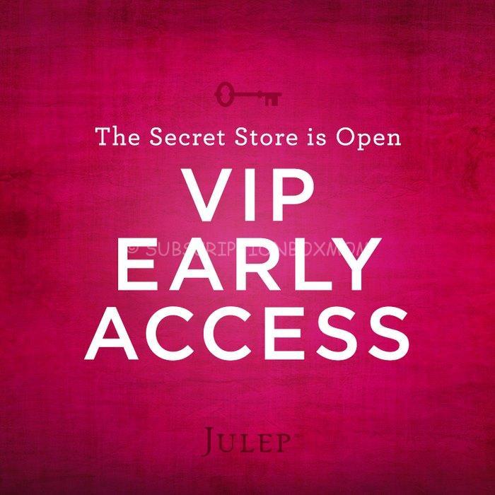 Julep Secret Store September 2014