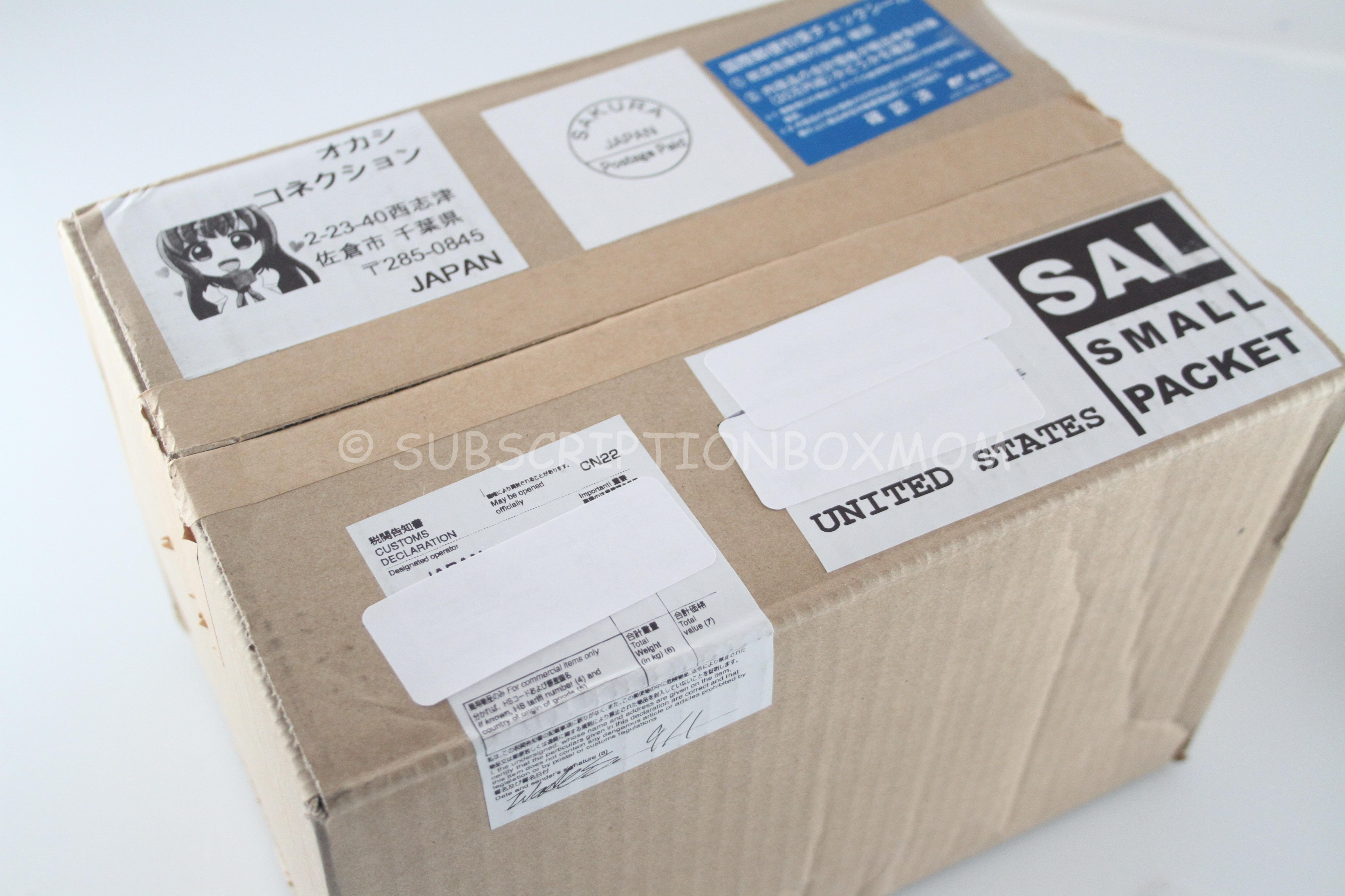 Okashi Connection September 2014 Review + Coupon - Japanese ...