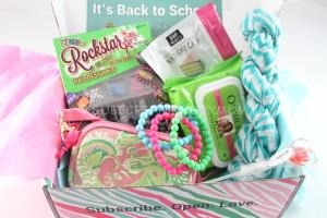 September 2014 Posh Pak Subscription Box Review
