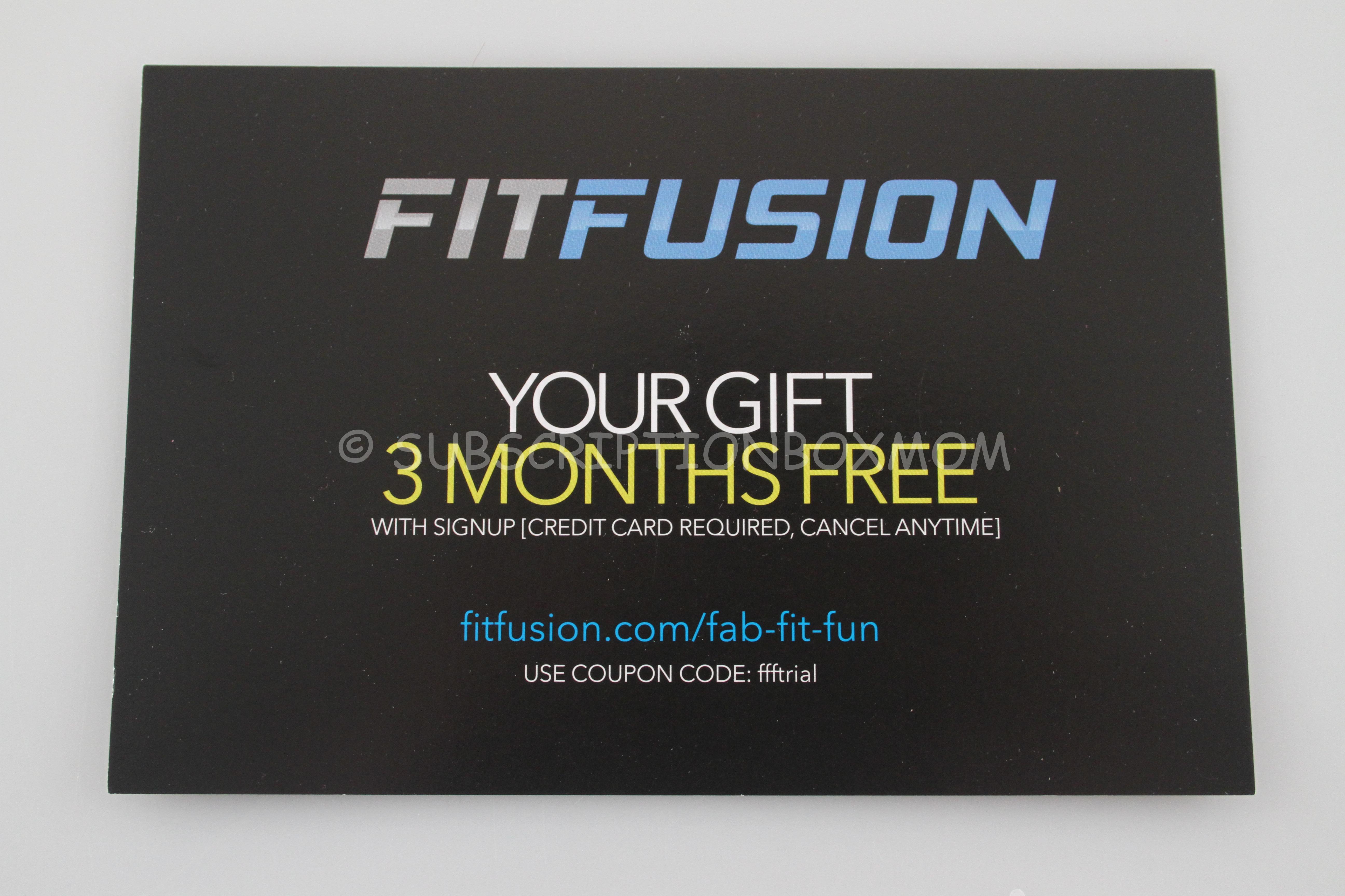FabFitFun Fall 2014 Review Coupon Subscription Box Mom