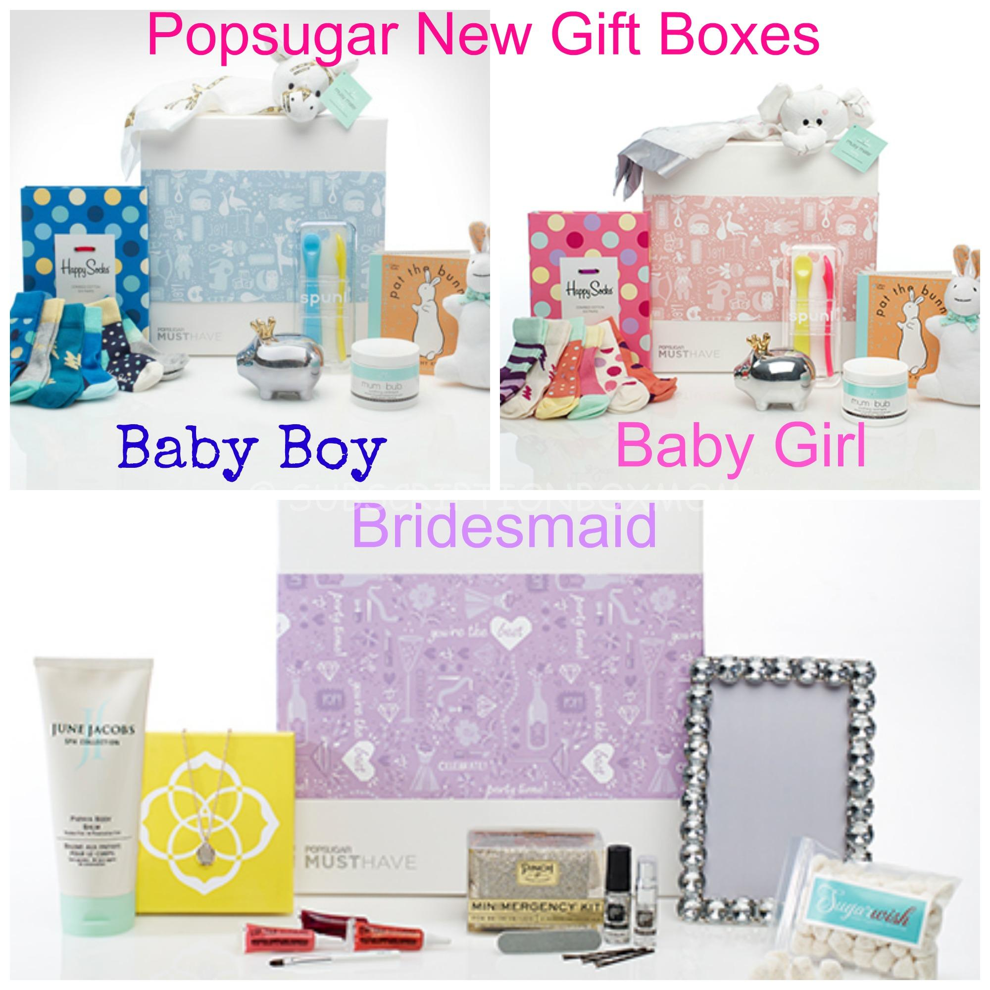 Popsugar Must Have Box New Gift Collections Subscription