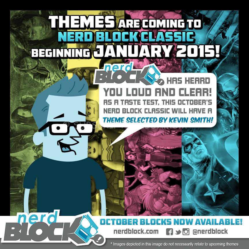 Nerd Block October 2014 Spoiler