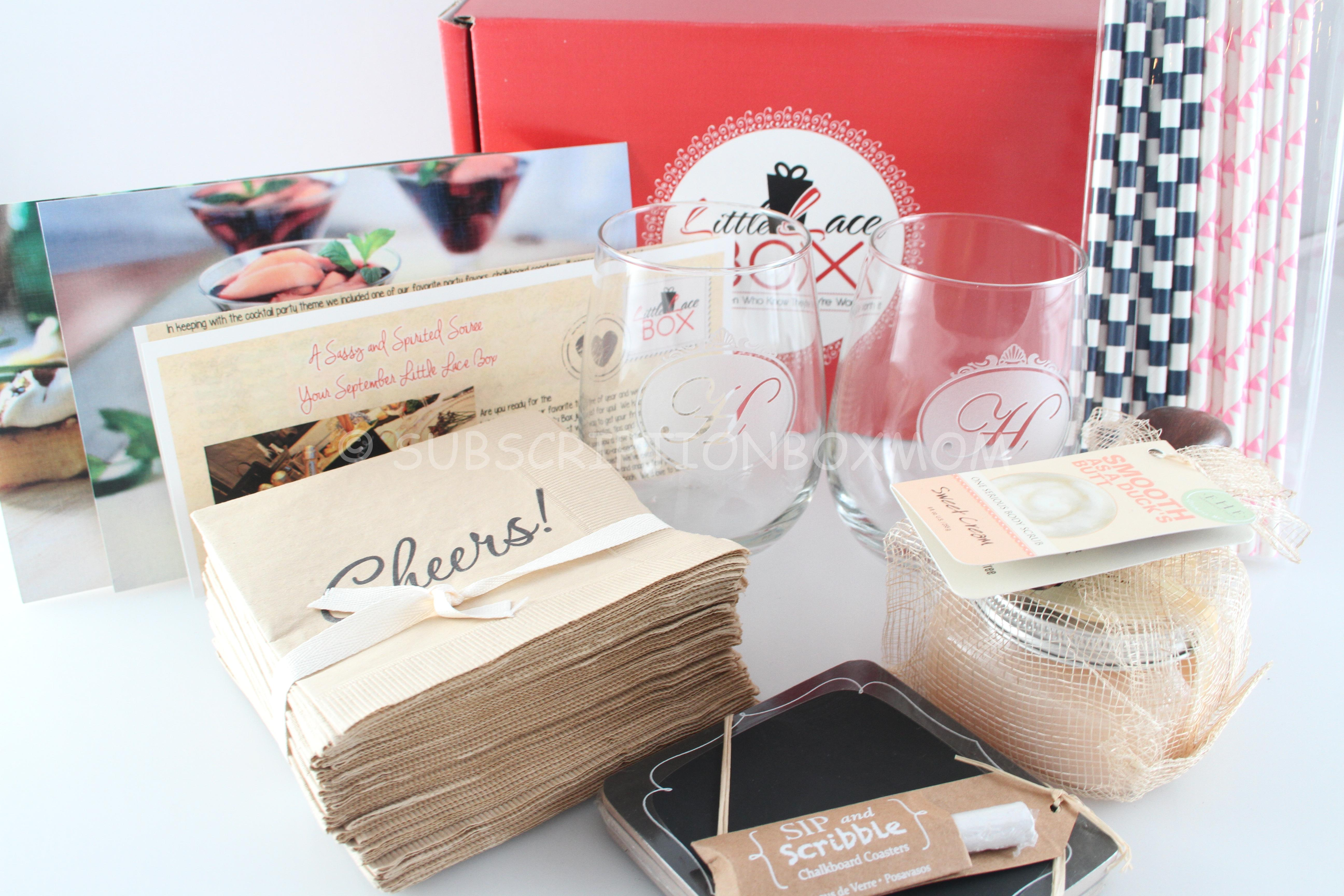 Little Lace Box September 2014 Review + Coupon - Subscription Box Mom