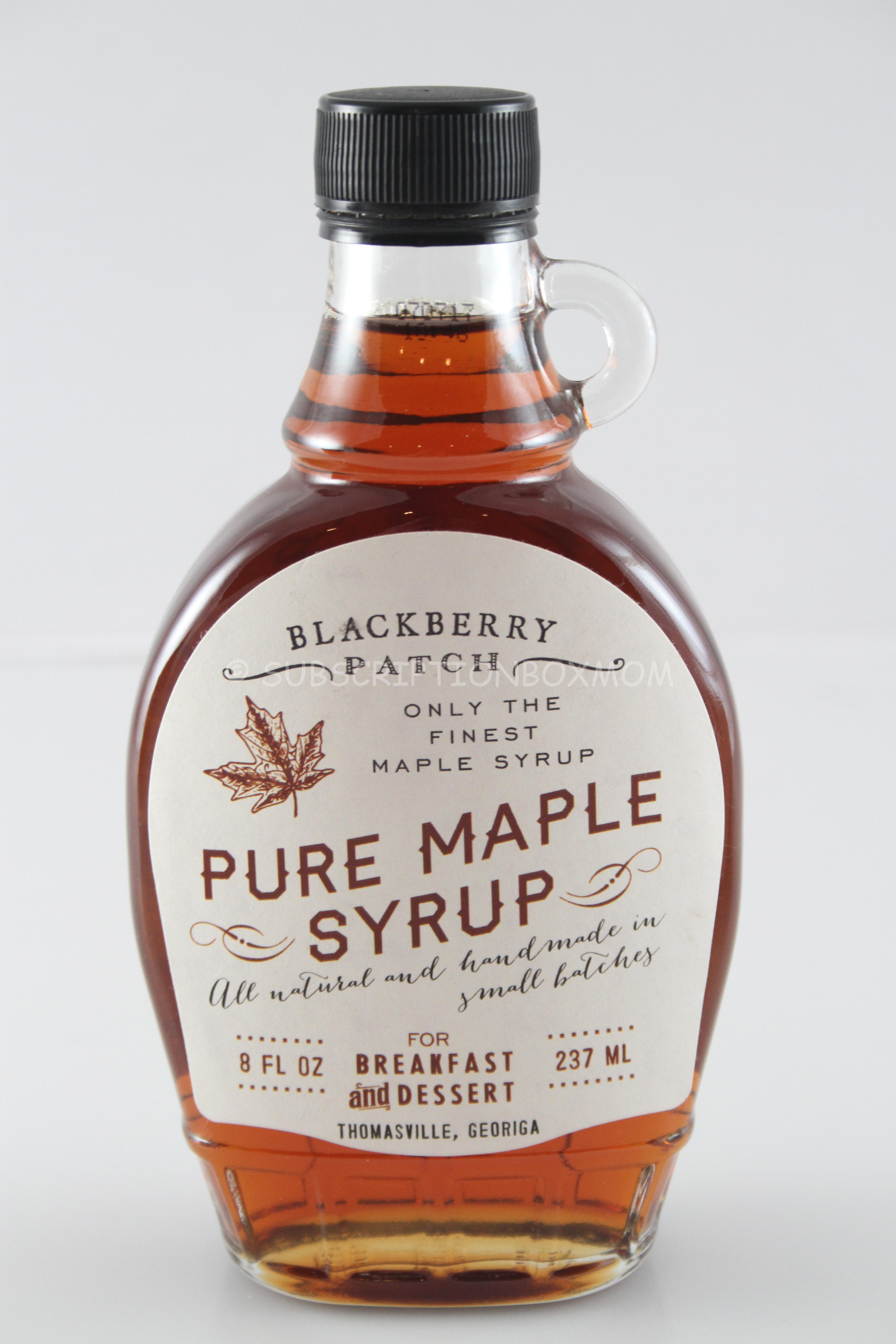 blackberry patch pure maple syrup $ 9 95 this is all natural syrup and ...