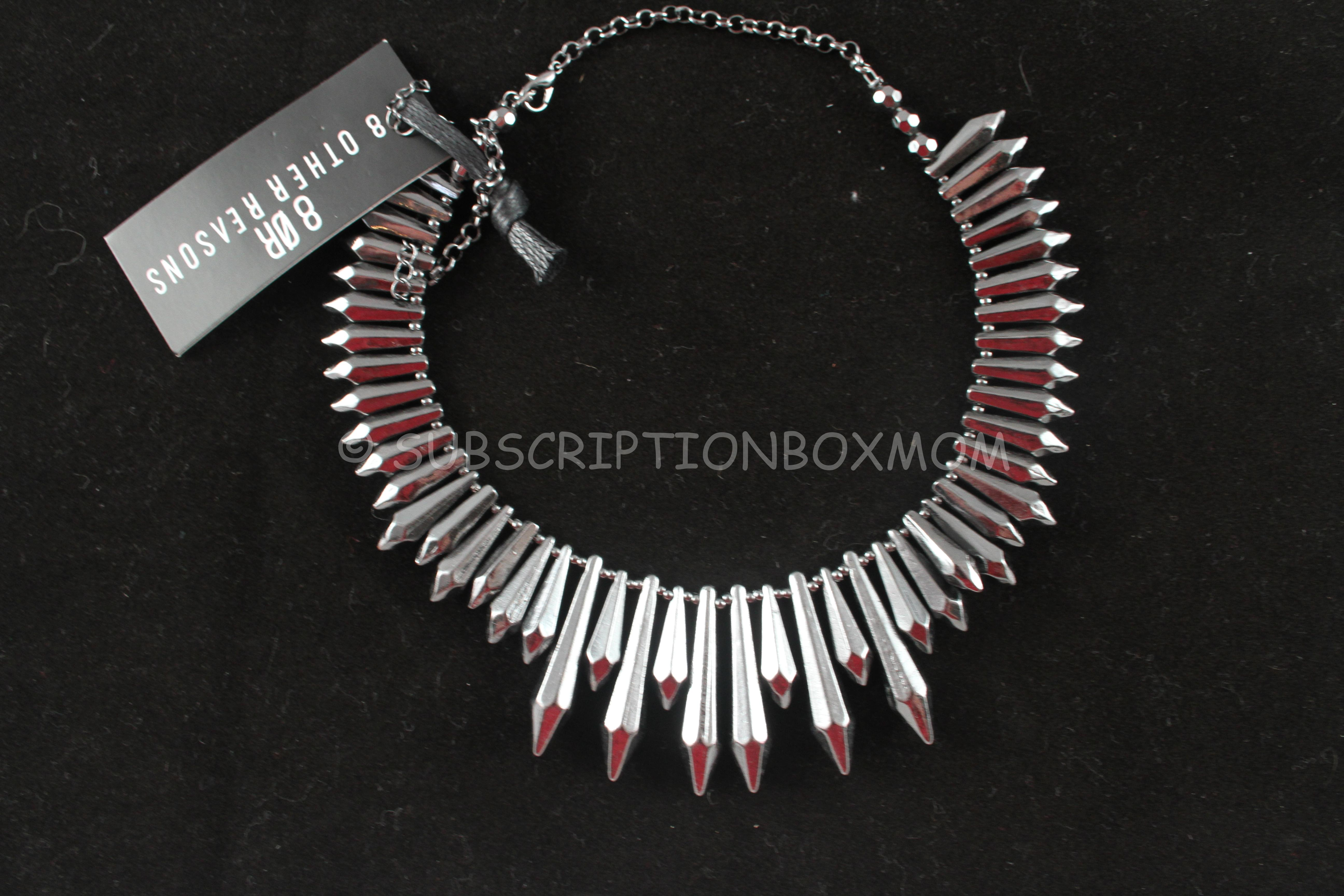 RocksBox October 2014 Review 2 Free Box Jewelry Subscription