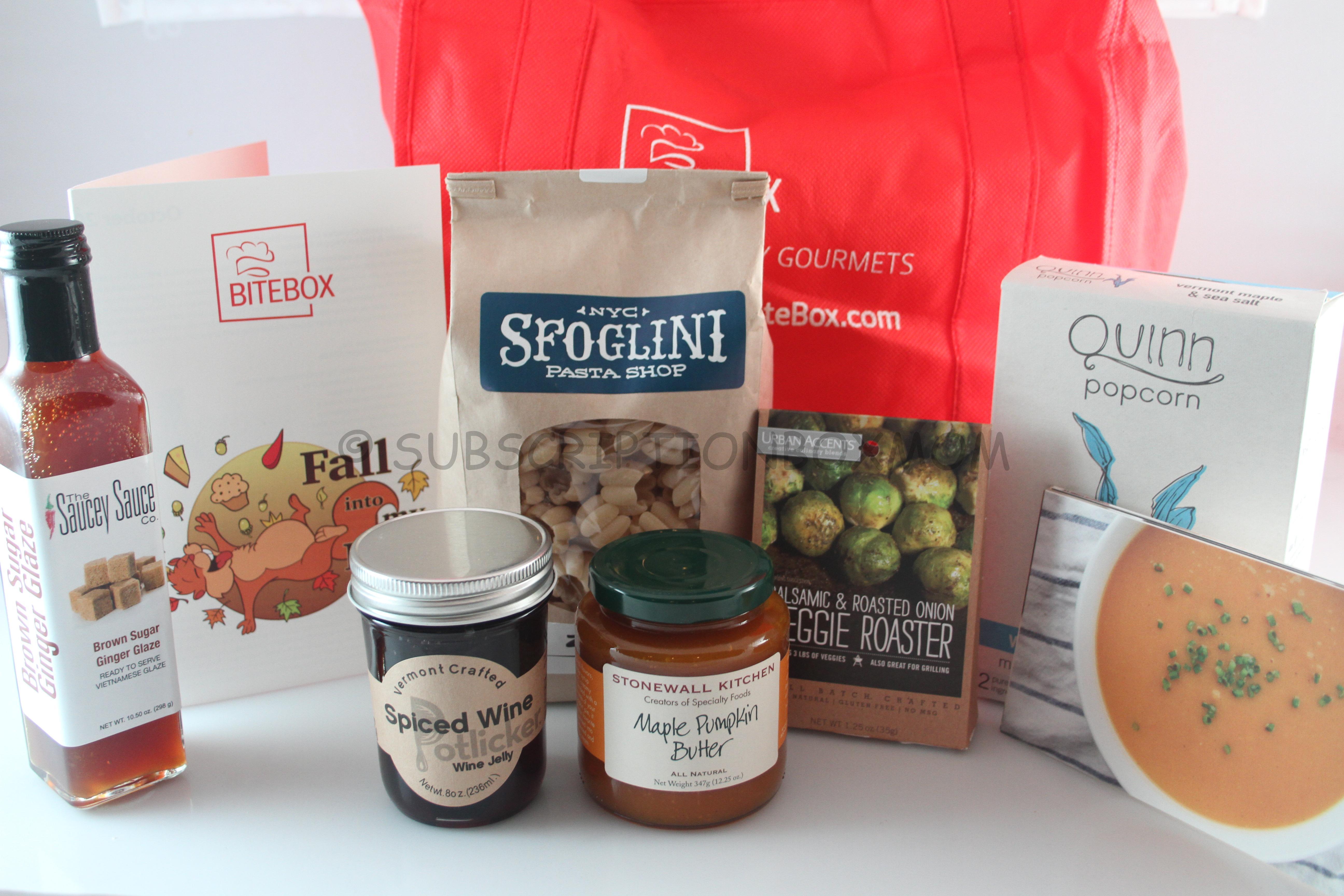 The Pantry Gourmet's BiteBox October 2014 Review