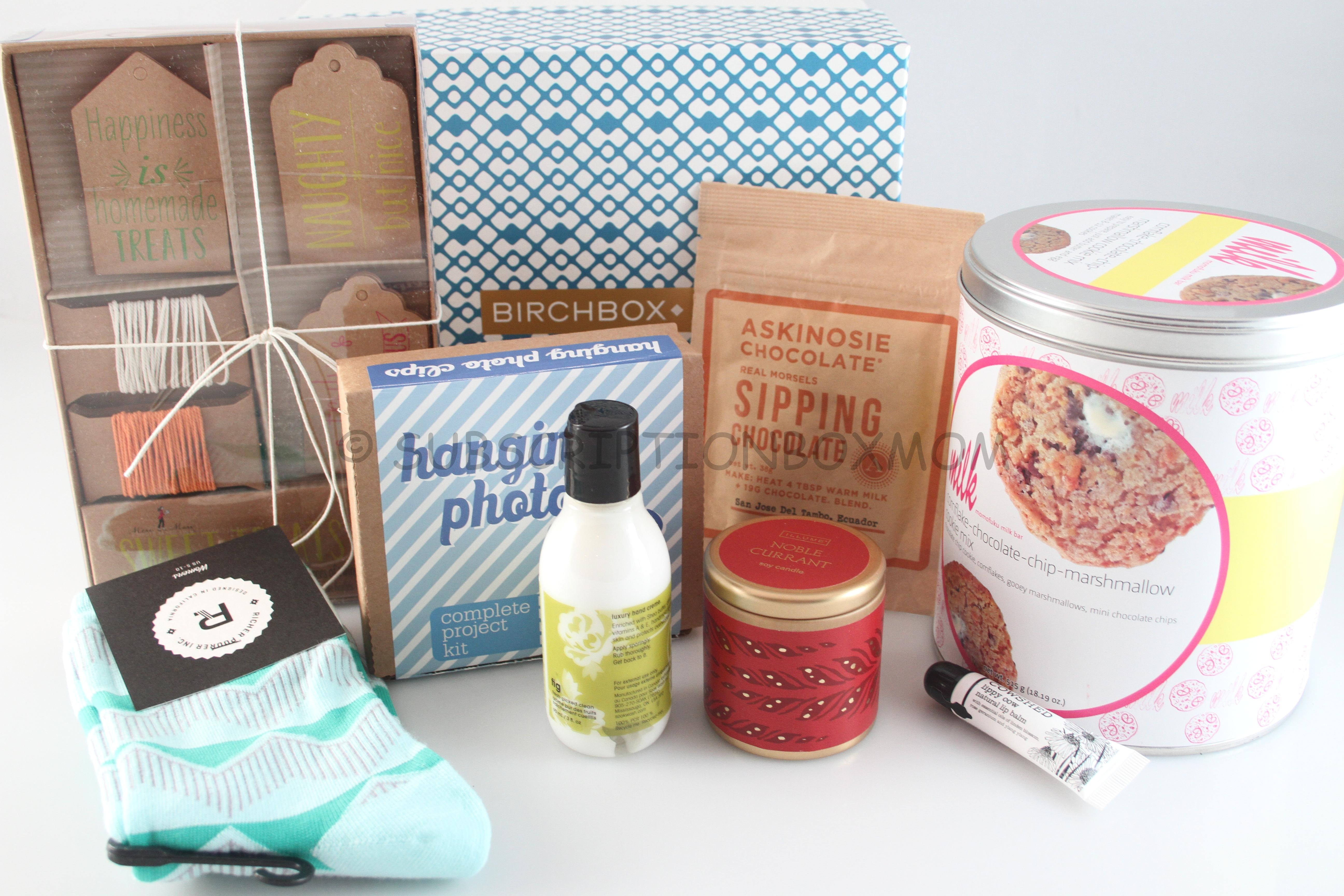 Birchbox Limited Edition Home Sweet Homespun Review Coupons Subscription Box Mom