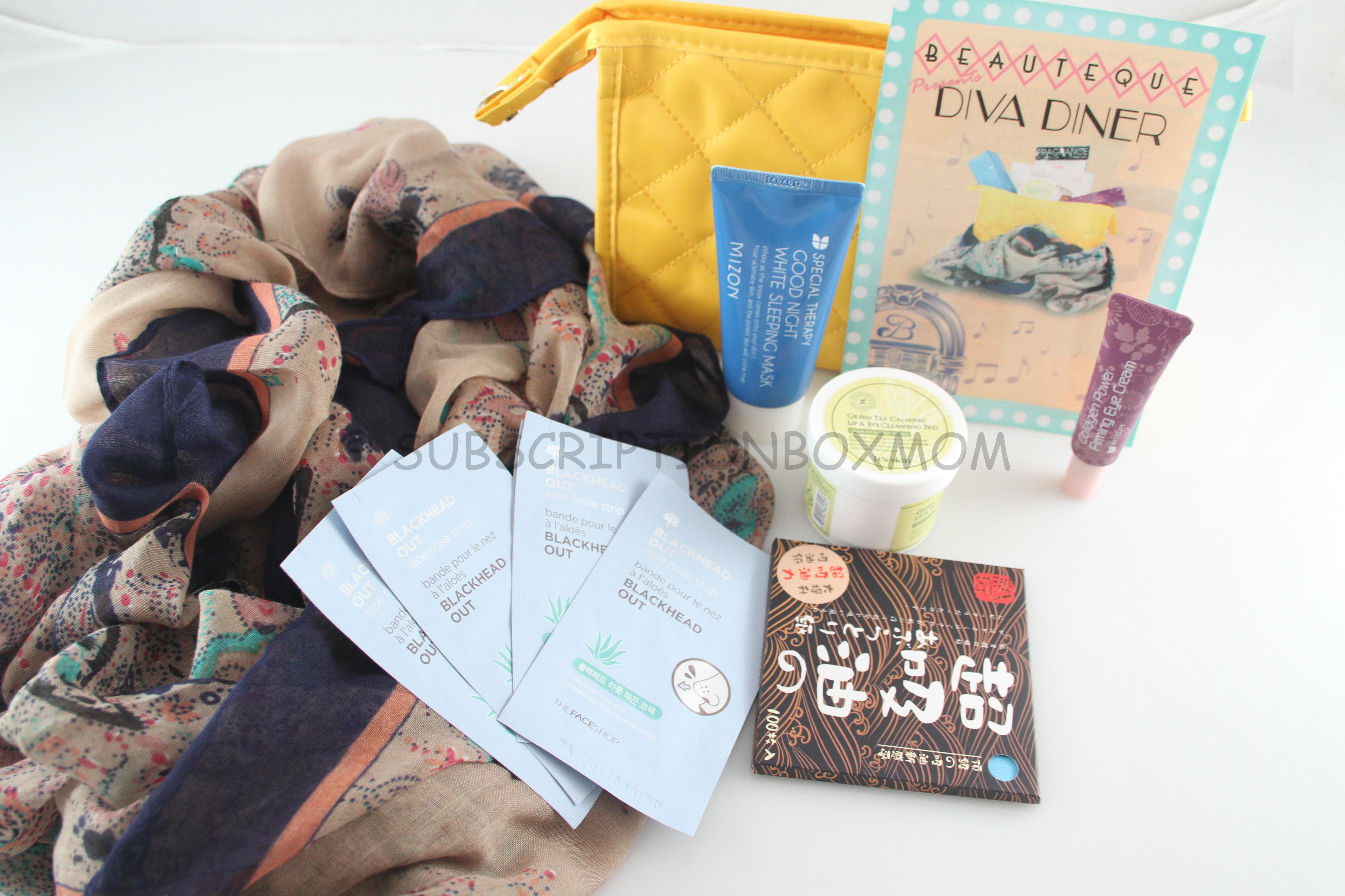 November 2014 Beauteque Beauty Bag Review