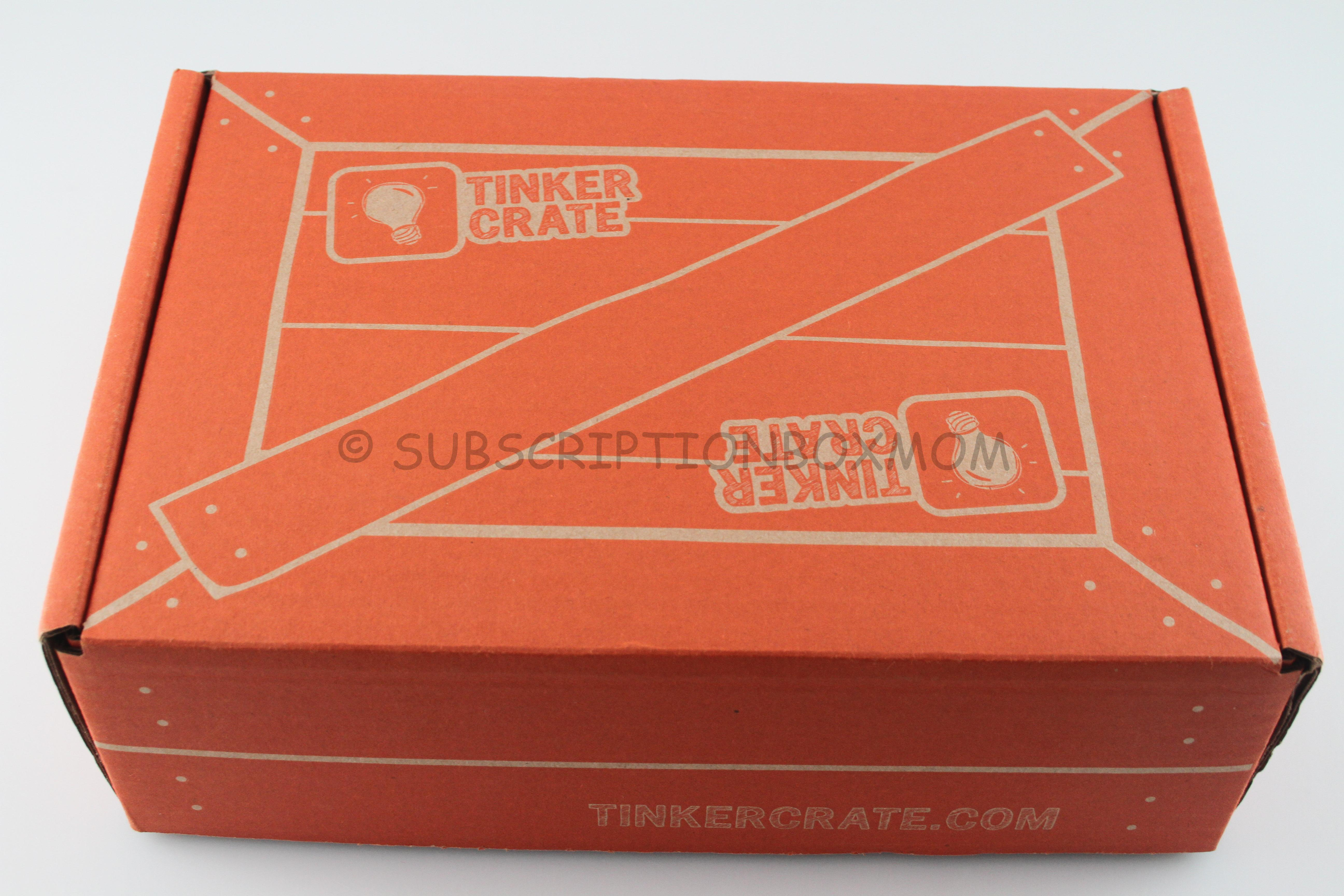 November 2014 Tinker Crate Quot Motor Quot Review Coupon