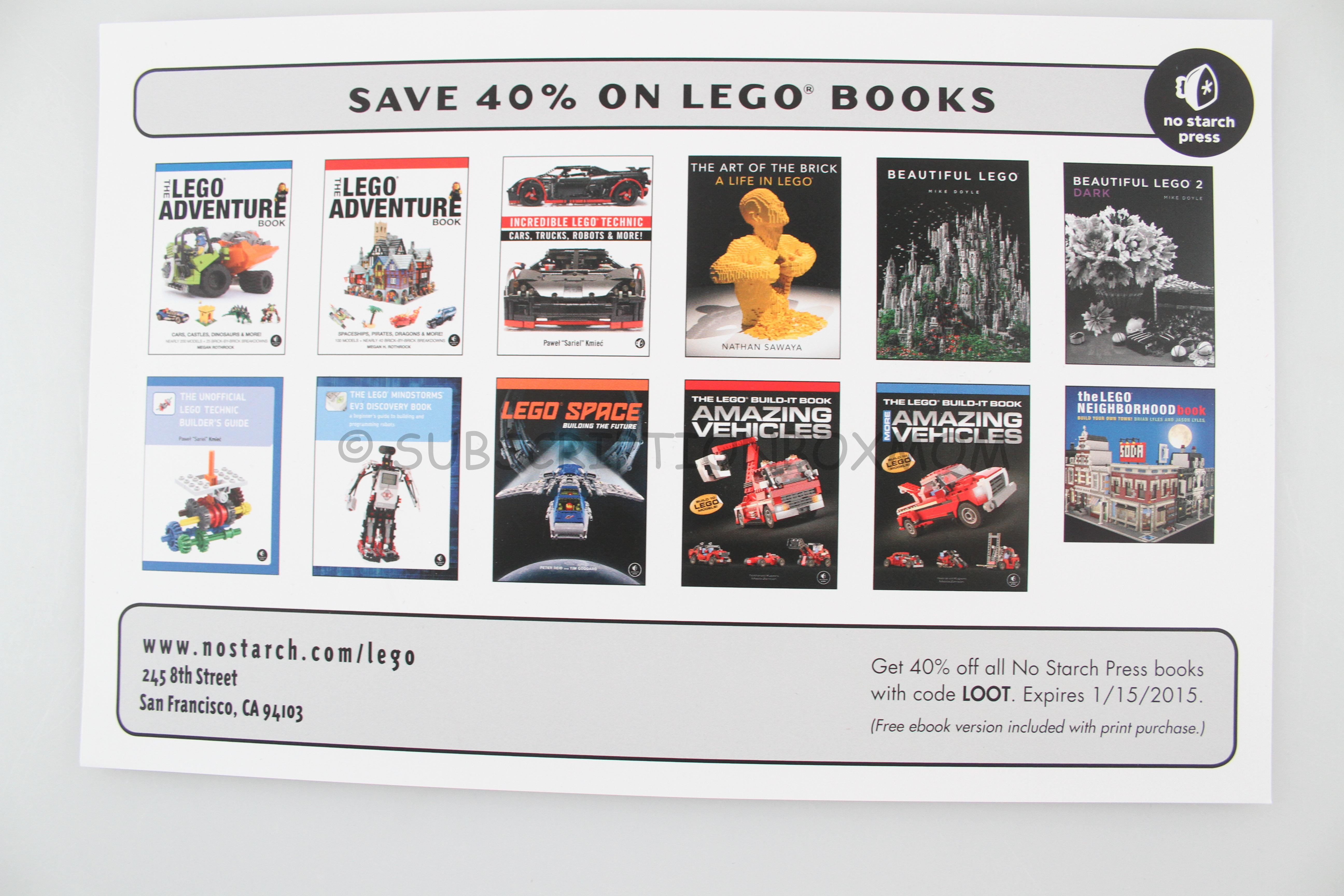 December 2014 brick loot review coupon brick subscription box 139 fandeluxe Images