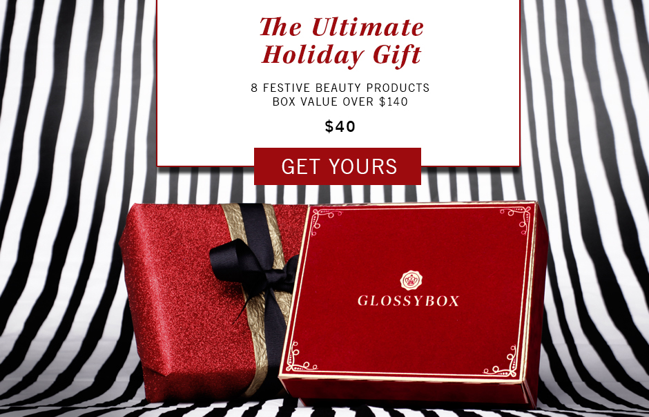 Free Glossybox Limited Edition Holiday Box