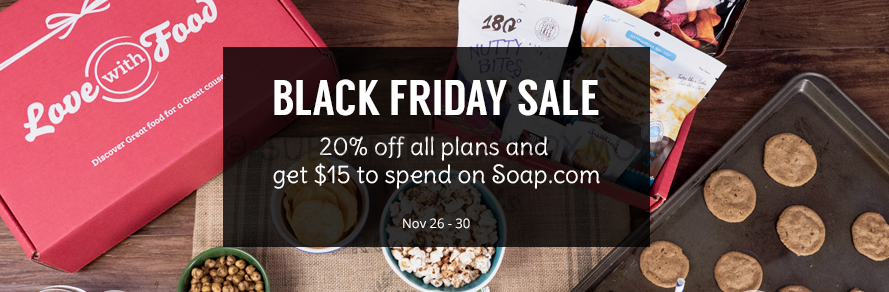 Love with Food Black Friday Coupon 2014
