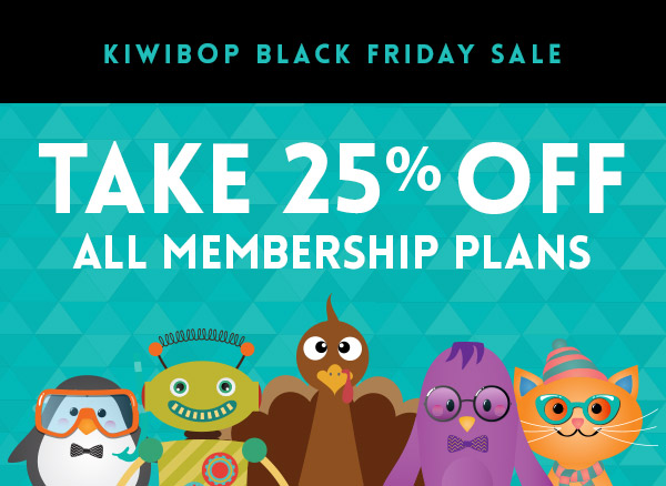 Kiwibop Black Friday Coupon + Deal